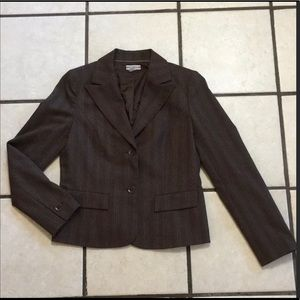 Nordstrom Classic Fitted Brown Blazer for Fall